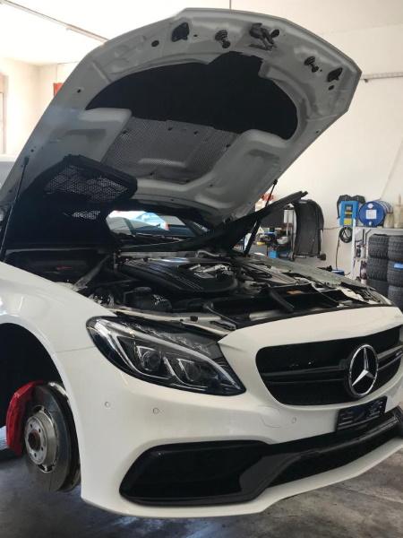 Mercedes C63 AMG (W205/204) Tieferlegung